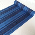 Men's yukata material/dark blue - Yukata cotton fabric