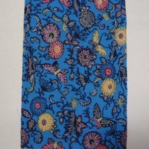 Photo5: Attractive design kimono fabric set (Bingata B)