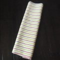 Cute stripes kimono fabric -Silk cloth