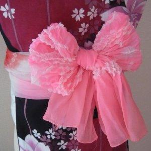 Photo2: Pink Heko Obi
