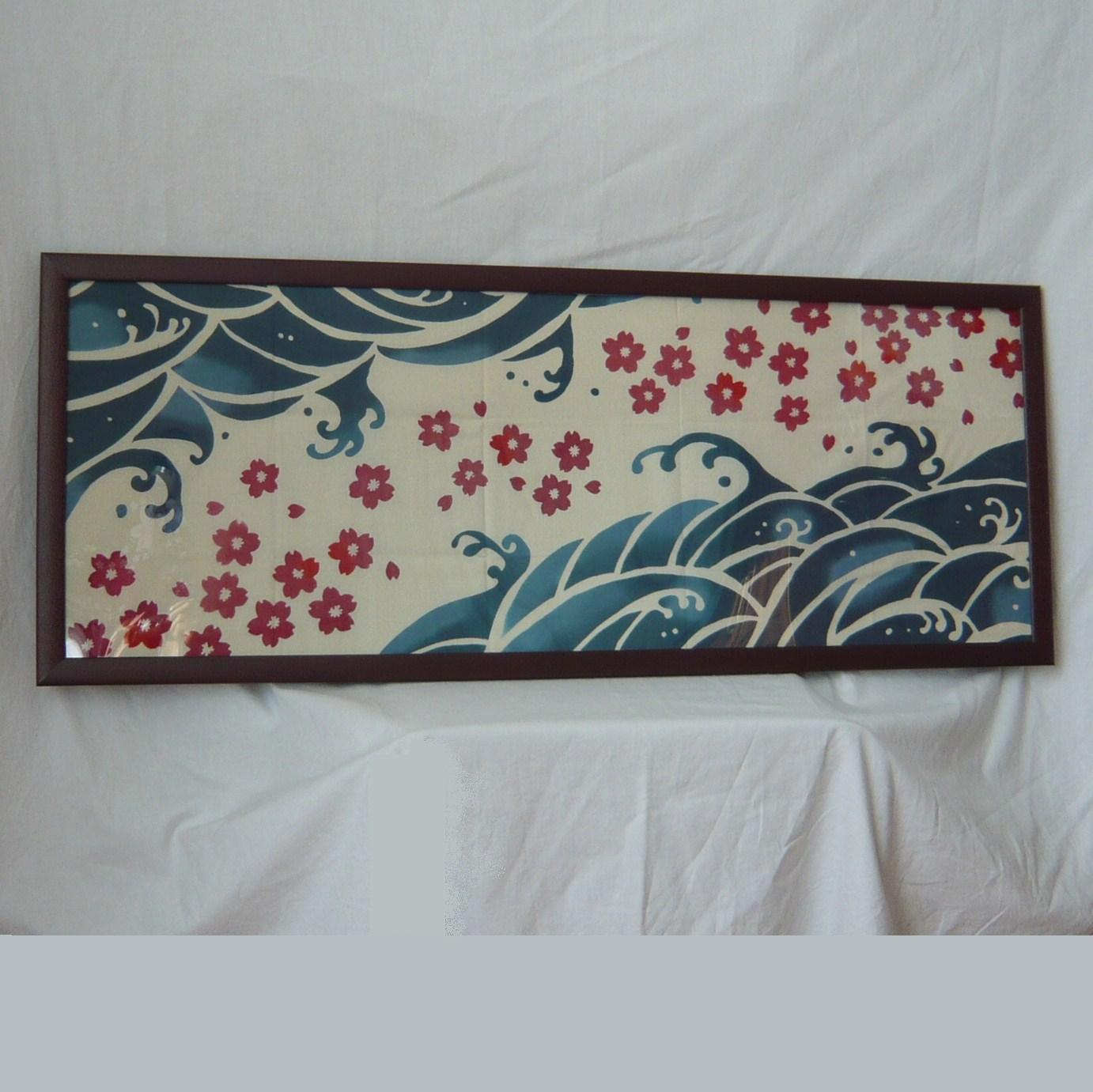Japanese Picture Tenugui Japanese Towel Wave And